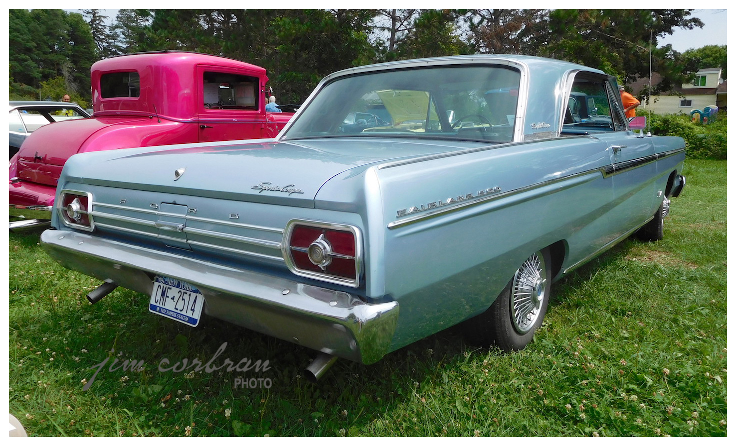The sports coupe was the top of the line fairlane in 65 this one has the optional 289 v8 as well as the 45 80 wire wheel covers